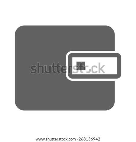 Wallet, purse, leather, money holder icon vector image. Can also be used for eCommerce, shopping, business. Suitable for web apps, mobile apps and print media. - stock vector
