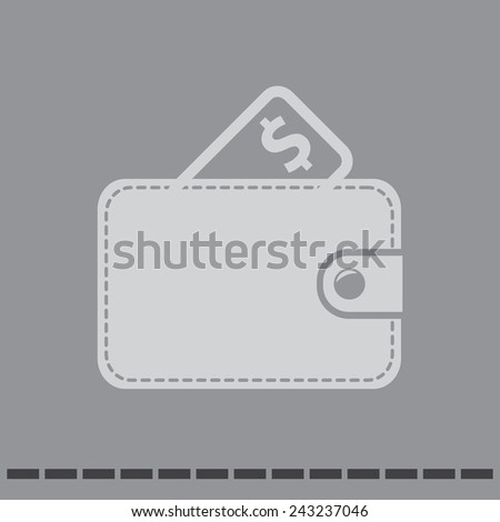 wallet vector icon