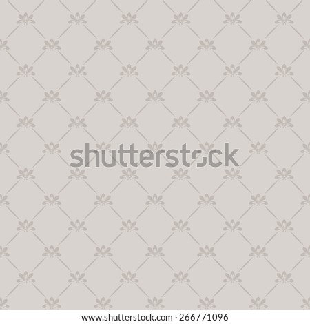 Wallpaper Background. Retro texture. Seamless pattern. Vintage style. Vector Image - stock vector