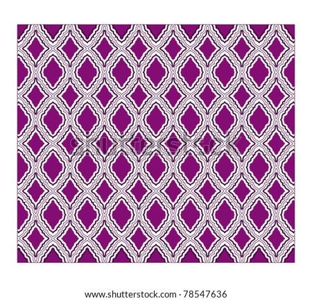 wallpaper pattern - stock vector