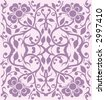 Wallpaper Pattern - Vector - stock vector