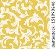 Wallpaper seamless - stock vector