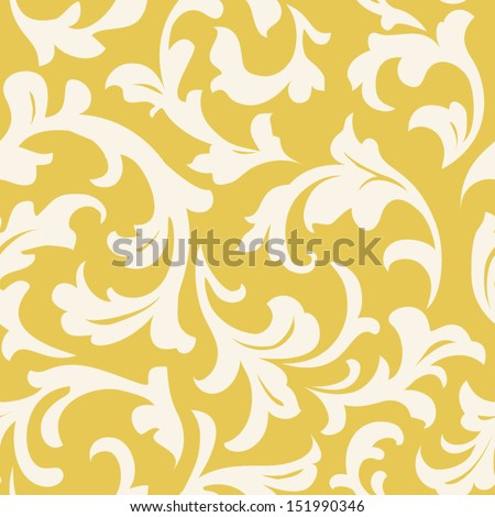 Wallpaper seamless - stock vector