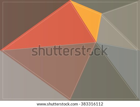 wallpaper style design mosaic polygon pattern origami