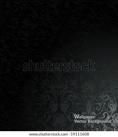 Wallpaper, Vector Background - stock vector