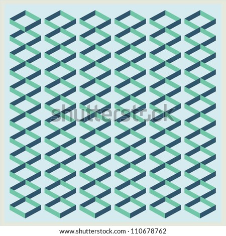 Wallpaper/ Wrapping Paper/Graphics/Seamless - stock vector