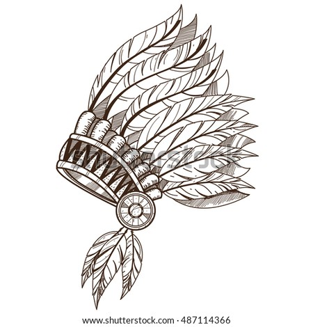 War Bonnet Feather Headdress Traditions Of The North American Indians