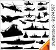 war machine vector 1 - stock vector