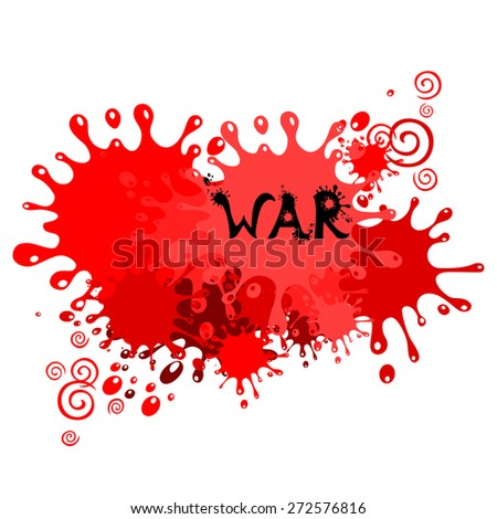 War. Vector Illustration - stock vector