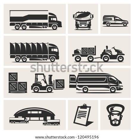 Warehouse - stock vector