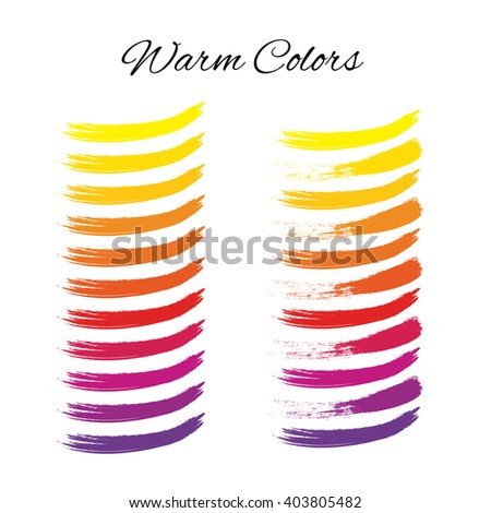 Warmcolors Color Wheel Spectrum Warml Swatches Rainbow