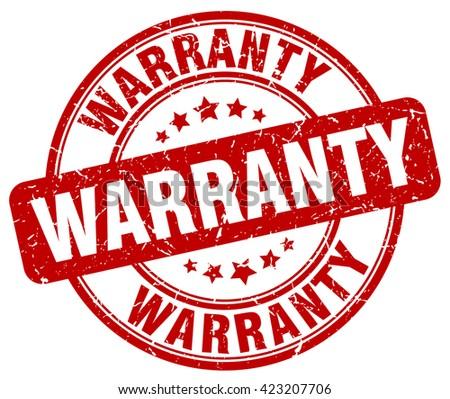 warranty red grunge round vintage rubber stamp.warranty stamp.warranty round stamp.warranty grunge stamp.warranty.warranty vintage stamp. - stock vector