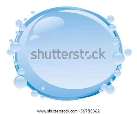 Water background - stock vector