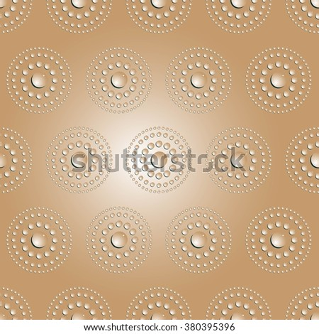 Water bubbles. Water drops on glass. Abstract  Seamless  background geometrical ornament pattern with water drops.  Vector illustration. - stock vector