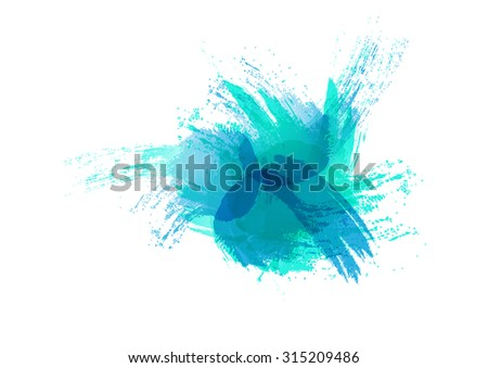 water color abstract art paint