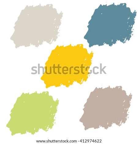 Water color 5 color pastel theme for use in background or backdrop for use in many work such as sale banner or element