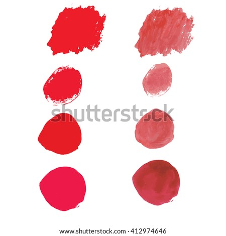 Water color red for use in background or backdrop for use in many work such as sale banner or element