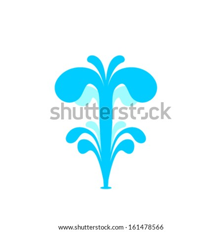 Water Fountain Stock Images Royalty Free Vectors