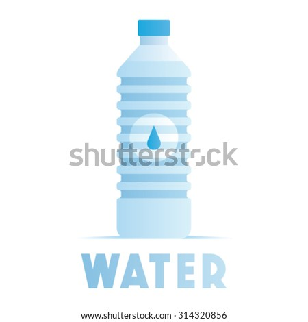 Water illustration - stock vector