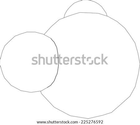 Water Molecule Structure Stock Vector 225276592 Shutterstock