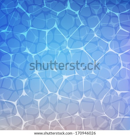 Water surface. Vector background. Eps 10. - stock vector