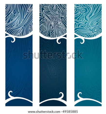 Water Swirls Banner