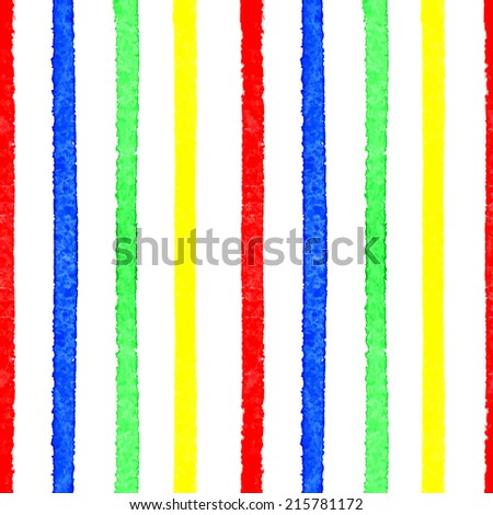 Watercolor background. Seamless Vector.  Background with stripes. Can be used for wallpaper, background, surface textures, pattern fills, pack, web page.