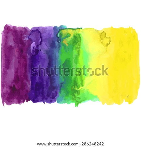 Watercolor hand paint background. Can be used for template, business card, wallpaper. Vector illustration