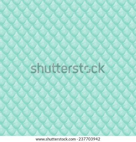 watercolor seamless pattern reptile or fish scales - stock vector