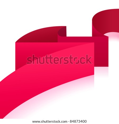 Wave background. Vector illustration - stock vector
