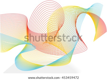 Line Art Design Abstract : Abstract art design stock illustration of graphic