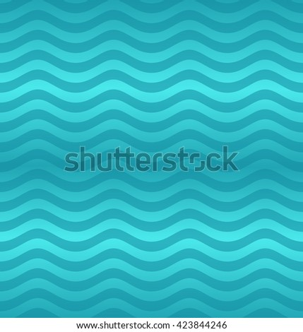 Wave pattern. Seamless pattern. Vector illustration.