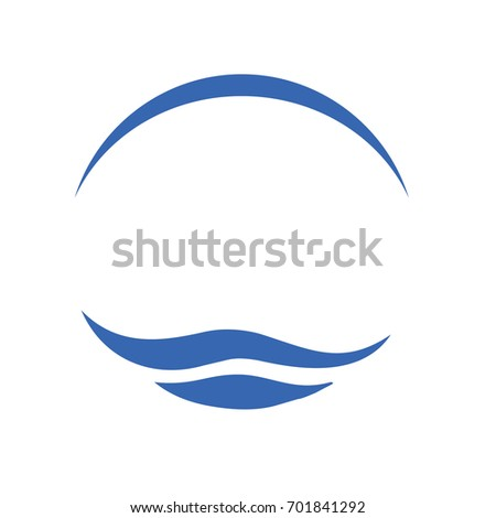 waves sea ocean waves blue water stock vector royalty free