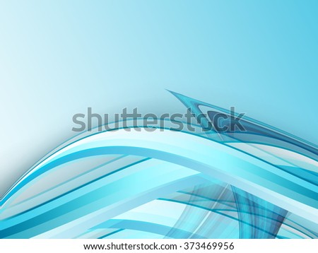 wavy abstract background with shining lines. Vector design. Eps10 - stock vector