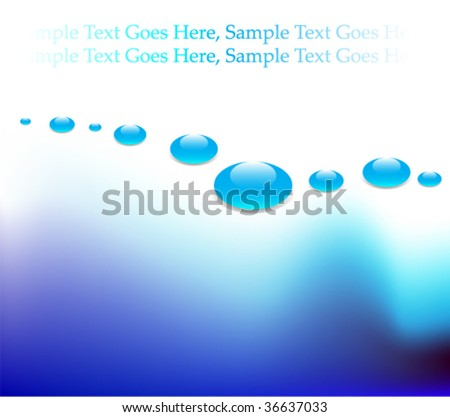 wavy background or business card or banner illustration