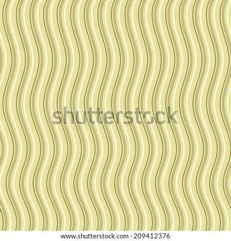Wavy lines background pattern illustration - stock vector