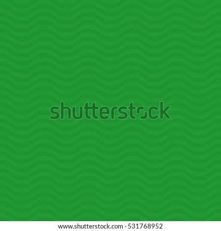 Wavy pattern. Green Neutral Seamless Pattern for Modern Design in Flat Style. Tileable Geometric Vector Background.