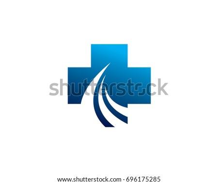 Way Medical Health Solution Logo Stock Photo Photo Vector
