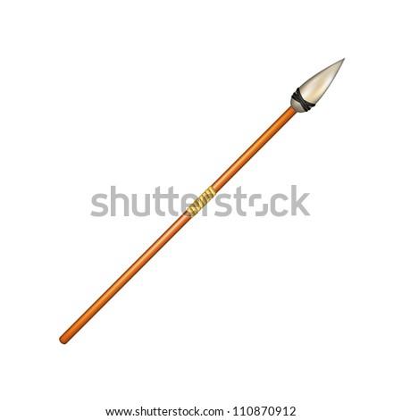 Weapon -Â?Â? spear - stock vector