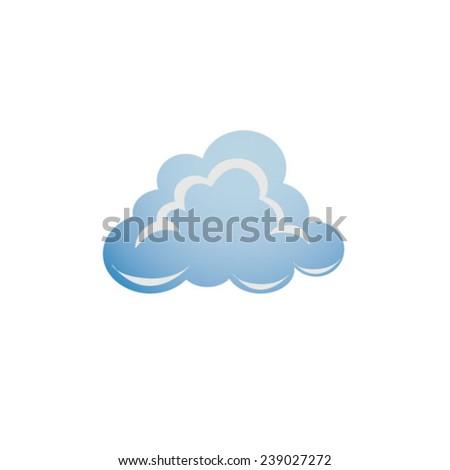 Weather - cloud  - stock vector