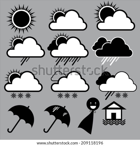 Weather Icon01 - stock vector
