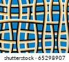 Weaver Deceiver - stock vector