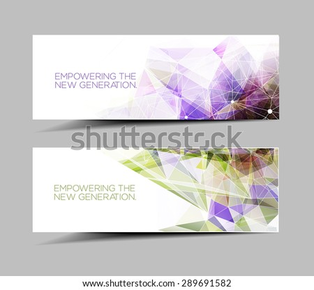 Web Banner & Header Layout Template