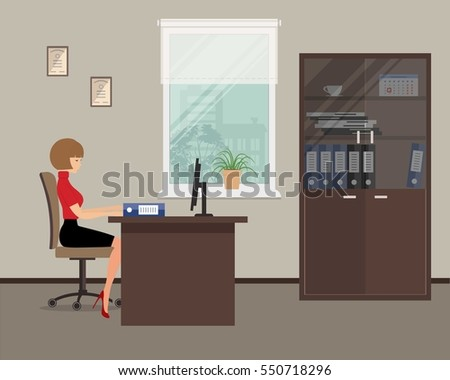 Office Workplace Stock Images RoyaltyFree Images Vectors