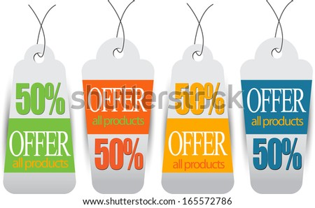 web banners best for sale and advertisement on christmas - stock vector