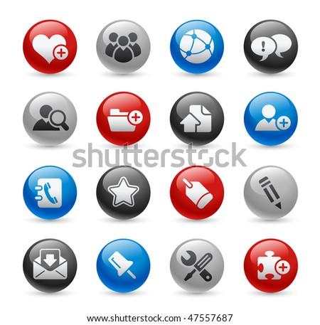Web Blog & Internet Icons // Gel Pro Series - stock vector