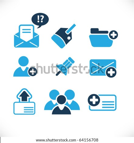 Web & Blog Vector Signs - stock vector