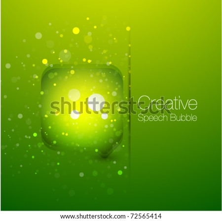 Web box vector background - stock vector