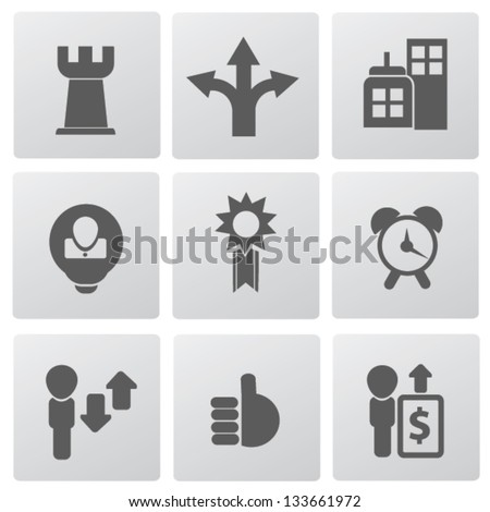 Web,business icons,vector - stock vector