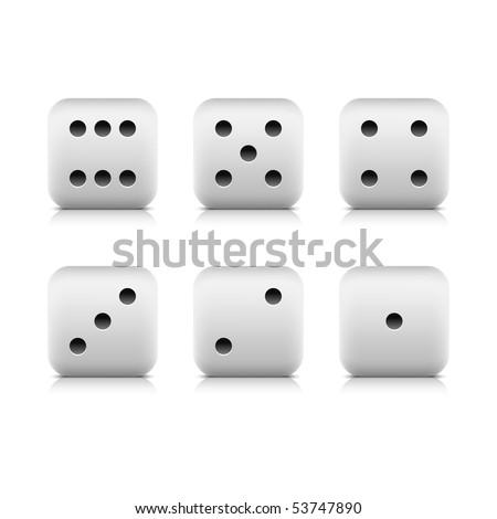 Casino Dice - Used (Individual Dice)